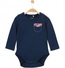 Body z długim rękawem dla niemowlaka N52M068_1
