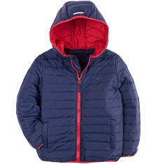 Pikowana kurtka z kapturem dla chłopca 4-8 lat C71A002_1