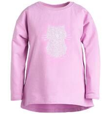 Bluza przez głowę dla dziewczynki 9-13 lat D72C501_2