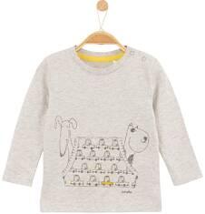 Melanżowy t-shirt dla niemowlaka N61G003_1