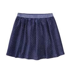 Welurowa spódnica dla dziewczynki 9-13 lat D72J512_1