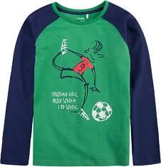Bluza z długim z rękawem reglanowym dla chłopca 9-13 lat C71G563_1
