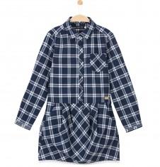 Sukienka z długim rękawem dla dziewczynki D52H030_1