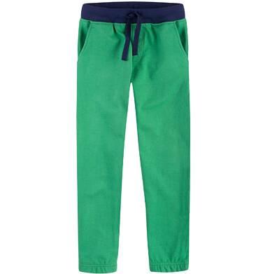 Spodnie dresowe z gumką w nogawce dla chłopca 9-13 lat C71K509_1