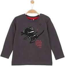 T-shirt z długim rękawem dla niemowlaka N62G015_1