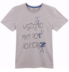 T-shirt męski Q61G038_1