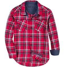 Koszula flanelowa dla chłopca 3-8 lat C62F009_1