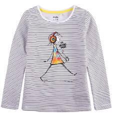 Bluzka z długim rękawem dla dziewczynki 9-13 lat D71G535_1