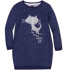Sukienka o charakterze bluzy dla dziewczynki 9-13 lat D72H506_1