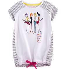 Tunika z krótkim rękawem dla dziewczynki 4-8 lat D71G048_1