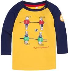 Koszulka w reglan  dla dziecka 6-36 m N72G047_1