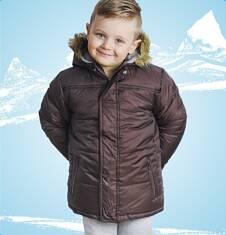 Długa kurtka zimowa dla chłopca 9-12 lat C62A504_2