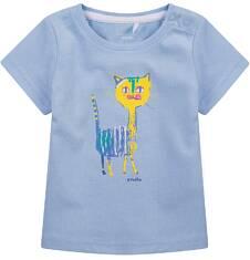 Bluzka z krótkim rękawem  dla dziecka 0-3 lat N71G058_1