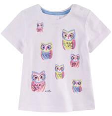 Bluzka z krótkim rękawem  dla dziecka 0-3 lat N71G081_1