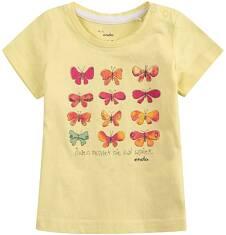 Bluzka z krótkim rękawem  dla dziecka 0-3 lat N71G035_1