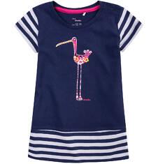 Tunika z krótkim podwiniętym rękawem dla dziecka 0-3 lat N71H016_1