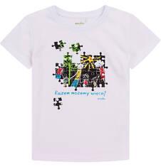 Razem możemy więcej - T-shirt z krótkim rękawem dla chłopca 3-8 lat. C72G163_1