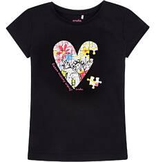 Razem możemy więcej - T-shirt z krótkim rękawem dla dziewczynki 3-8 lat D72G155_2