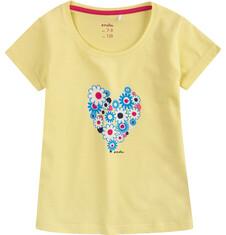 Bluzka z krótkim rękawem dla dziewczynki 9-13 lat D71G661_1