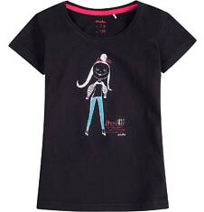 Bluzka z krótkim rękawem dla dziewczynki 4-8 lat D71G160_2