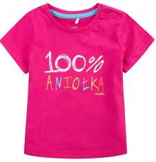 Bluzka z krótkim rękawem  dla dziecka 0-3 lat N71G088_1