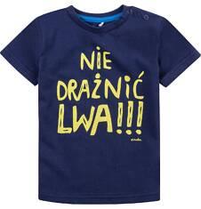 Bluzka z krótkim rękawem  dla dziecka 2-3 lat N71G089_1
