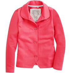 Rozpinana bluza z kołnierzykiem dla dziewczynki D61C007_2