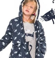Kurtka zimowa dla dziewczynki 3-8 lat D62A003_1