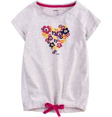 Tunika z krótkim rękawem dla dziewczynki 4-8 lat D71G177_1
