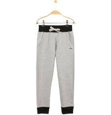 Melażowe spodnie dresowe dla dziewczynki D61K013_1