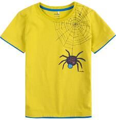T-shirt z kontrastowym wykończeniem dla chłopca 9-13 lat C71G663_1