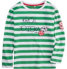 T-shirt z długim rękawem dla chłopca 4-8 lat C71G062_1