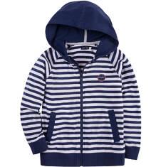 Bluza z kapturem na suwak dla chłopca 4-8 lat C71C019_1