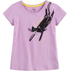 Bluzka z krótkim rękawem dla dziewczynki 9-13 lat D71G530_2