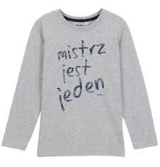 T-shirt z długim rękawem dla chłopca 9-12 lat C62G530_1