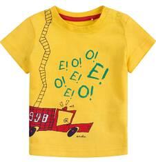 Bluzka z krótkim rękawem  dla dziecka 0-3 lat N71G040_1