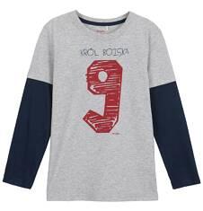 T-shirt z długim rękawem dla chłopca 9-12 lat C62G532_1