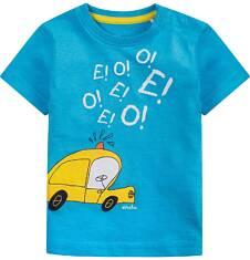 Bluzka z krótkim rękawem  dla dziecka 0-3 lat N71G043_1