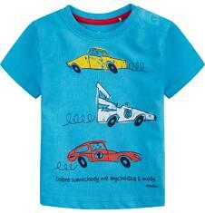 Bluzka z krótkim rękawem  dla dziecka 0-3 lat N71G044_1