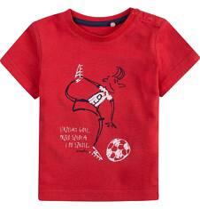 Bluzka z krótkim rękawem  dla dziecka 0-3 lat N71G067_1