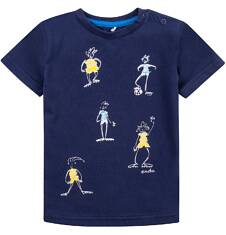 Bluzka z krótkim rękawem  dla dziecka 0-3 lat N71G068_1