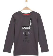 T-shirt z długim rękawem dla chłopca 3-8 lat C62G067_2