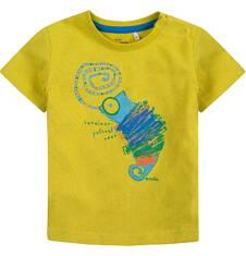 Bluzka z krótkim rękawem  dla dziecka 0-3 lat N71G097_1