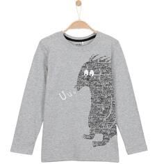 T-shirt z długim rękawem dla chłopca 3-8 lat C62G088_2