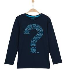 T-shirt z długim rękawem dla chłopca 9-12 lat C62G591_1