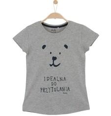Melanżowa bluzka dla dziewczynki D61G185_1