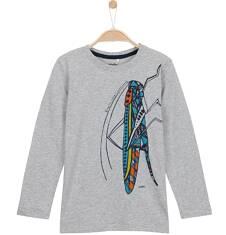 T-shirt z długim rękawem dla chłopca 3-8 lat C62G106_1