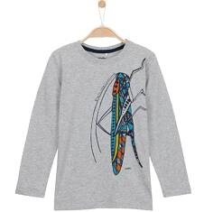 T-shirt z długim rękawem dla chłopca 9-12 lat C62G606_1