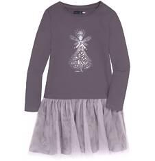 Sukienka z tiulową falbanką dla dziewczynki 3-8 lat D72H029_1