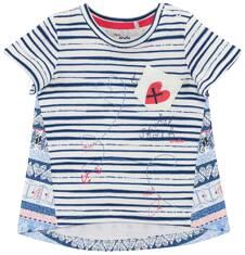 Bluzka w deseń dla niemowlaka N61G011_1